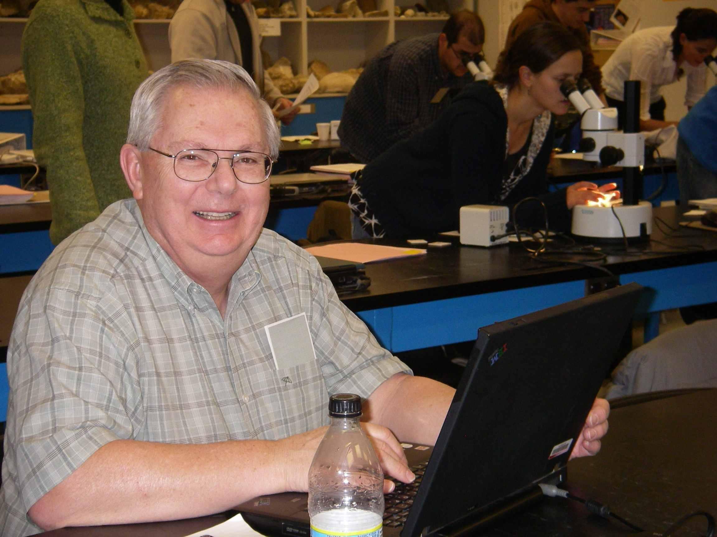 Bill coker teaching laurentian course