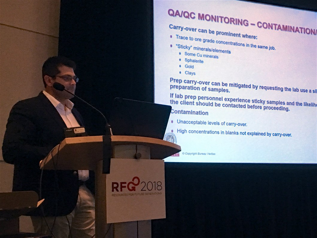 AAG member presentation at the RFG conference